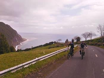 Helm-Knecht Crew auf den Azoren